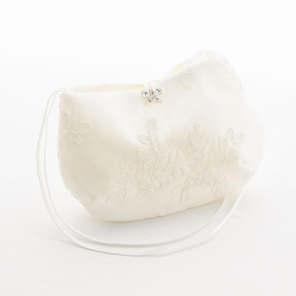 Brauttasche T8 von Avalia Ivory